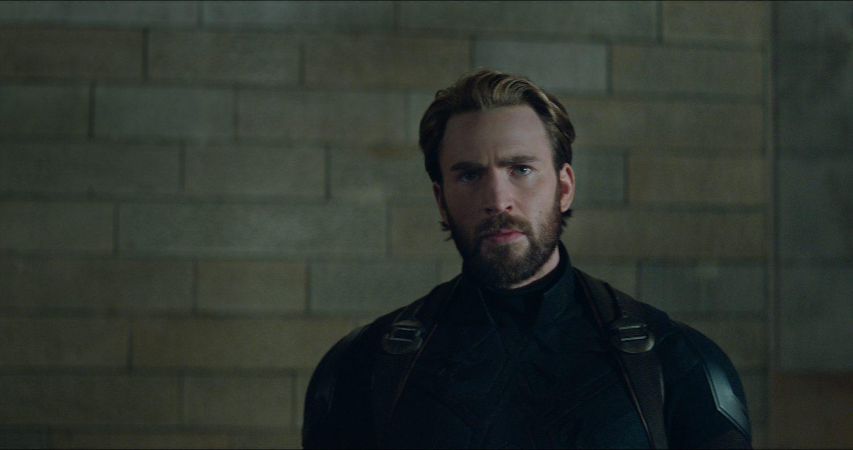 Marvel Studios' AVENGERS: INFINITY WAR..Captain America/Steve Rogers (Chris Evans)..Photo: Film Frame..©Marvel Studios 2018