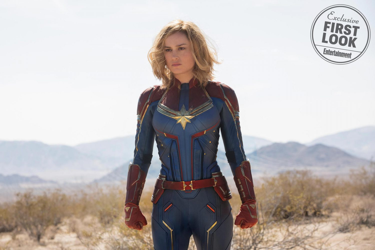 Brie Larson stars as Captain Marvel in the upcoming Marvel Movie, in theaters March 2019.