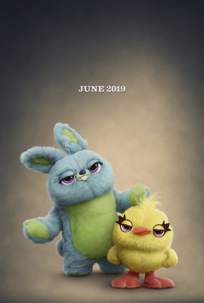 Keegan Michael Key and Joran Peele voice Ducky and Bunny in the upcoming Toy Story 4.
