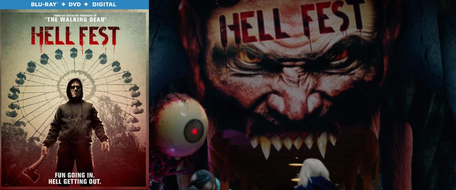 Hellfest hits blu-ray and Dvd this week.