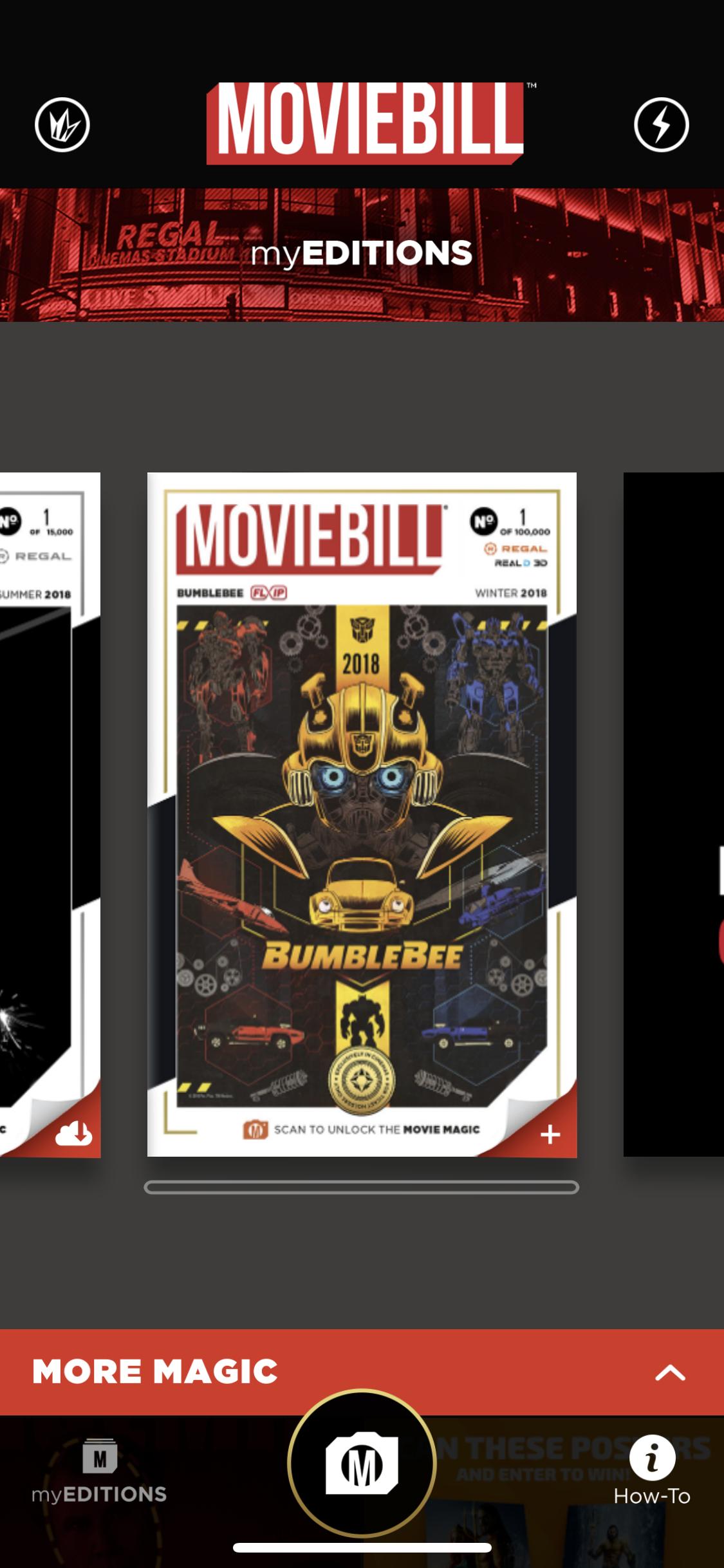 Moviebill App screenshot
