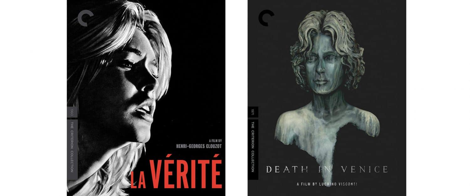 Both Death in Venice and La Verite join the Criterion Collection.