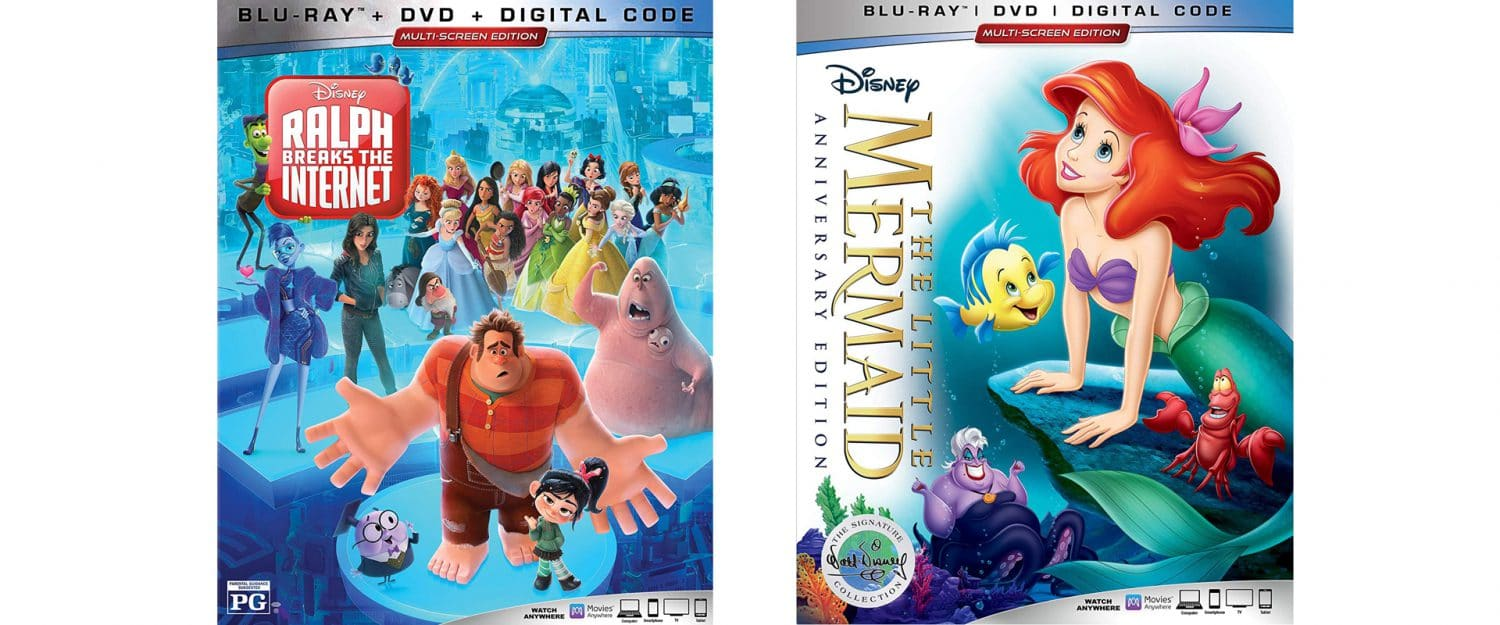 Look for Disney's The Little Mermaid to get a new special edition Blu-ray the same day Ralph Breaks the Internet hits store shelves.