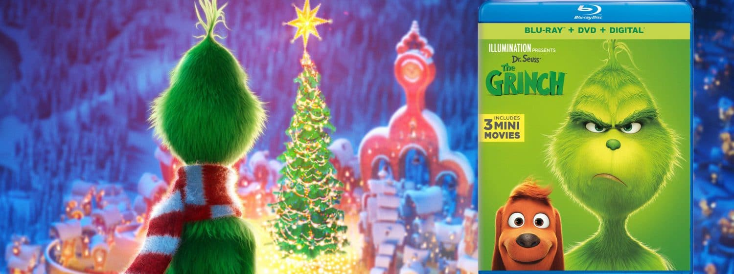 The Grinch comes to Blu-ray this week.