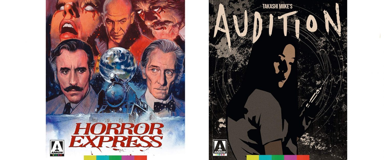 Arrow Films is delivering both Horror Express and Audition on Blu-ray today.