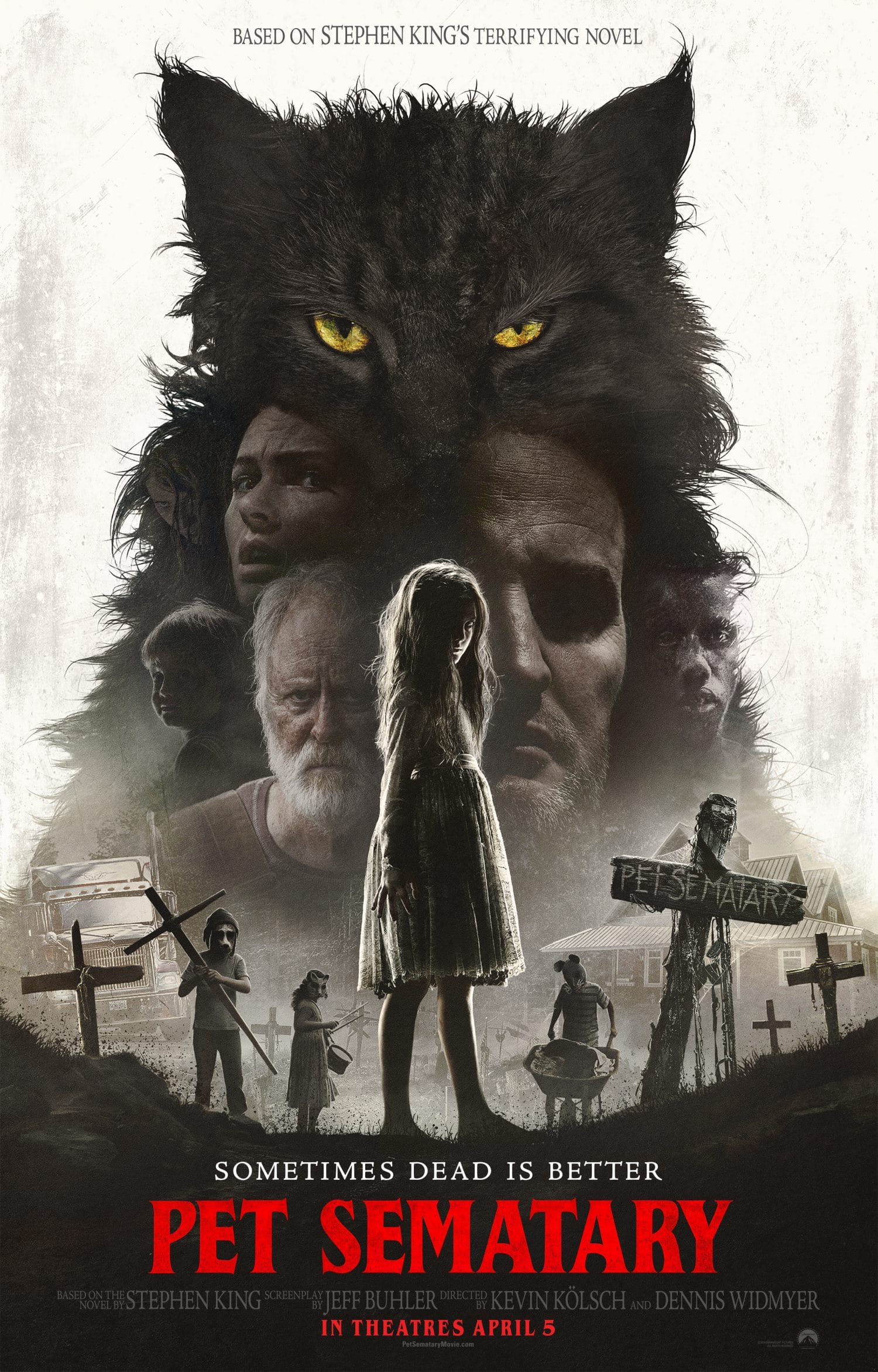 The new Pet Sematary trailer showcases the upcoming movie.