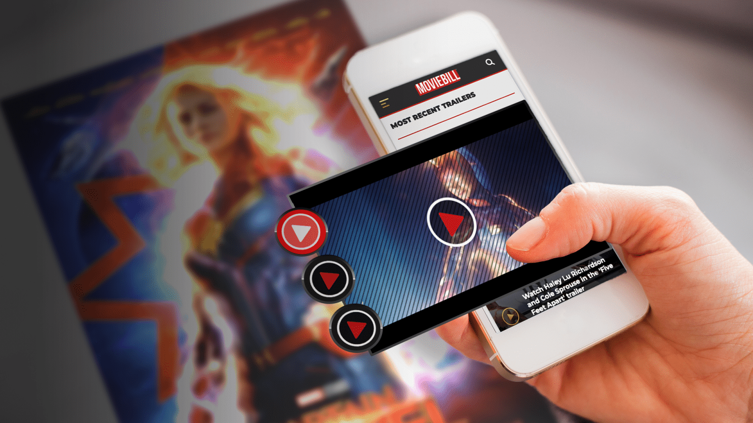 Captain Marvel Poster Activation