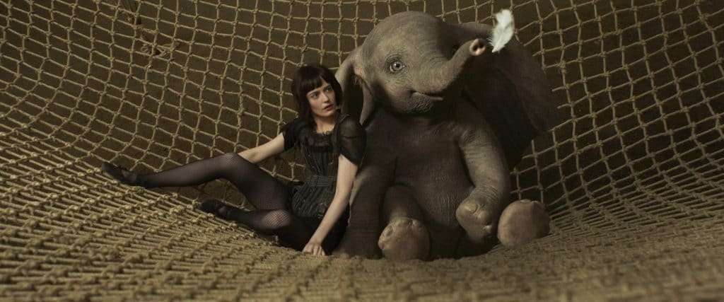 Take a look at the new live action Dumbo movie from Disney.
