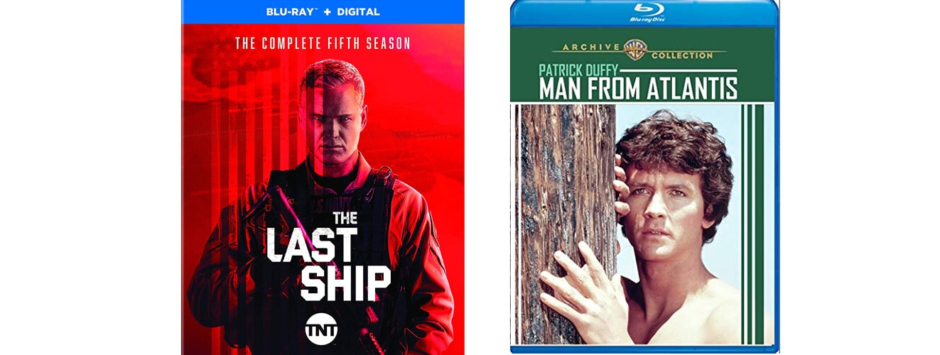 The fifth season of The Last Ship and the man from atlantis are both coming to blu-ray this week.
