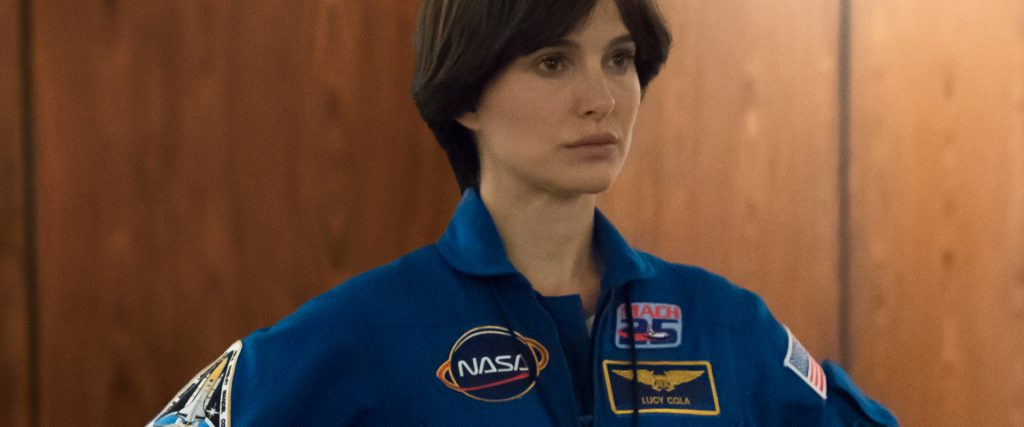 Lucy in the Sky stars Natalie Portman as an astronaut.