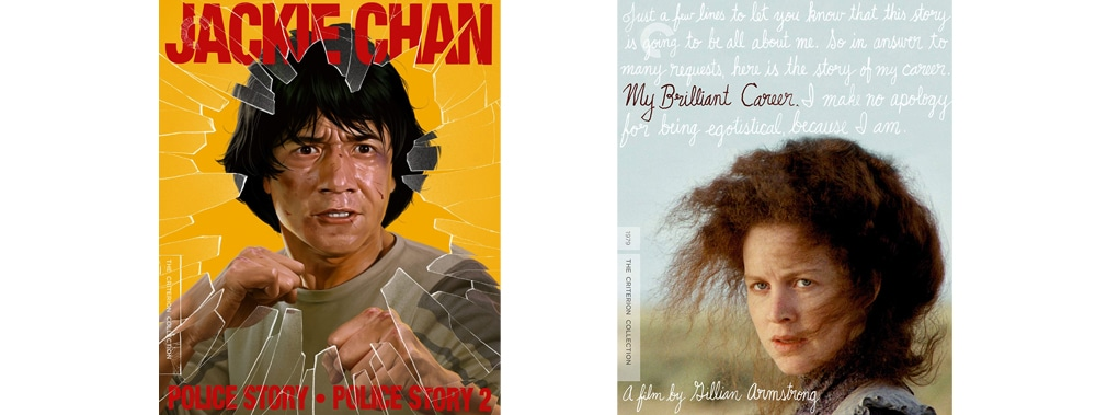 Police Story 1 and 2 joins the Criterion Collection alongside My Brilliant Career.