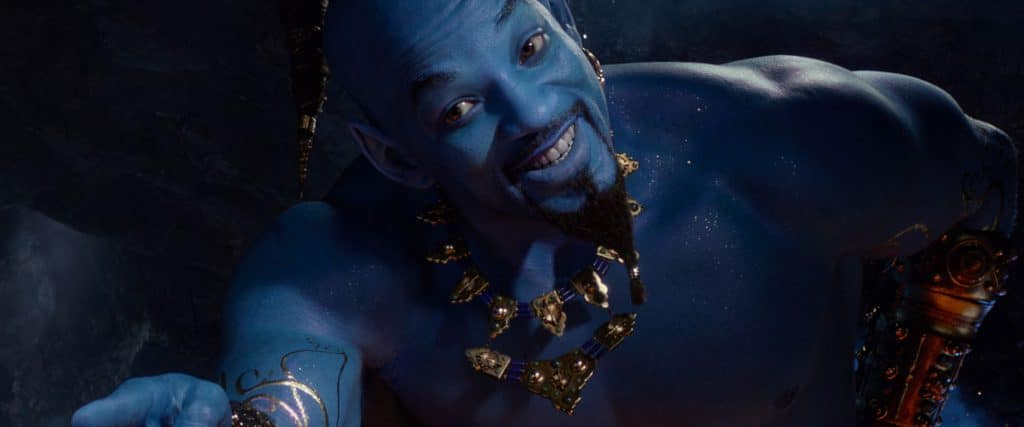 Meet Will Smith's Genie in a new 'Aladdin' featurette plus, find out how to unlock the magic lamp with the Moviebill scanner in your Regal Movies app!