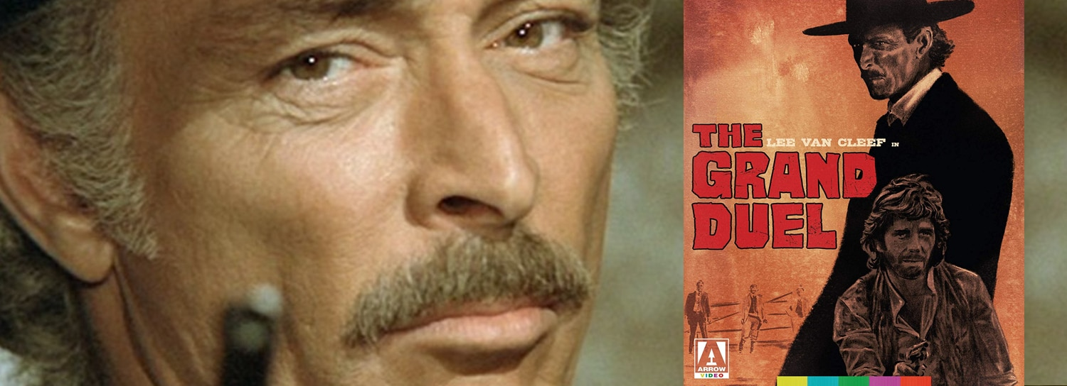 Arrow Video is releasing The Grand Duel on Blu-ray this week.