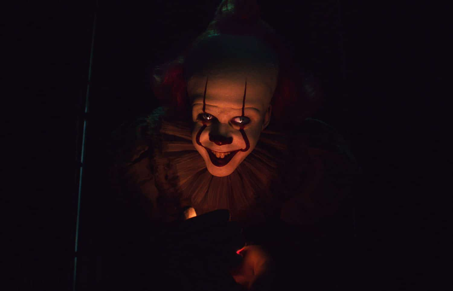 """BILL SKARSGÅRD as Pennywise in New Line Cinema's horror thriller """"IT CHAPTER TWO,"""" a Warner Bros. Pictures release. Photo Courtesy of Warner Bros. Pictures"""