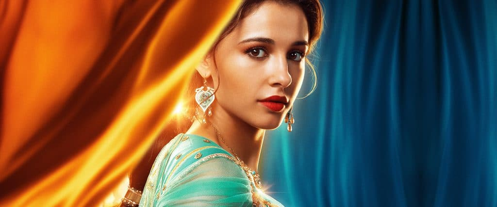 Naomi Scott plays Princess Jasmine in the new Disney Aladdin movie.