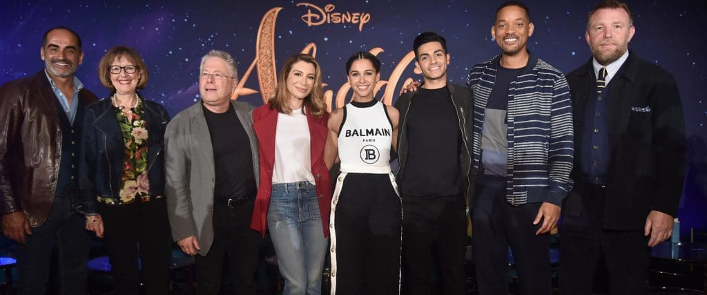 Watch the full aladdin press conference with a special opening performance by Alan Menken!